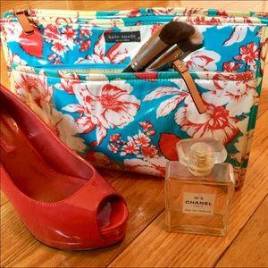 Kate Spade Floral Cosmetics Bag
